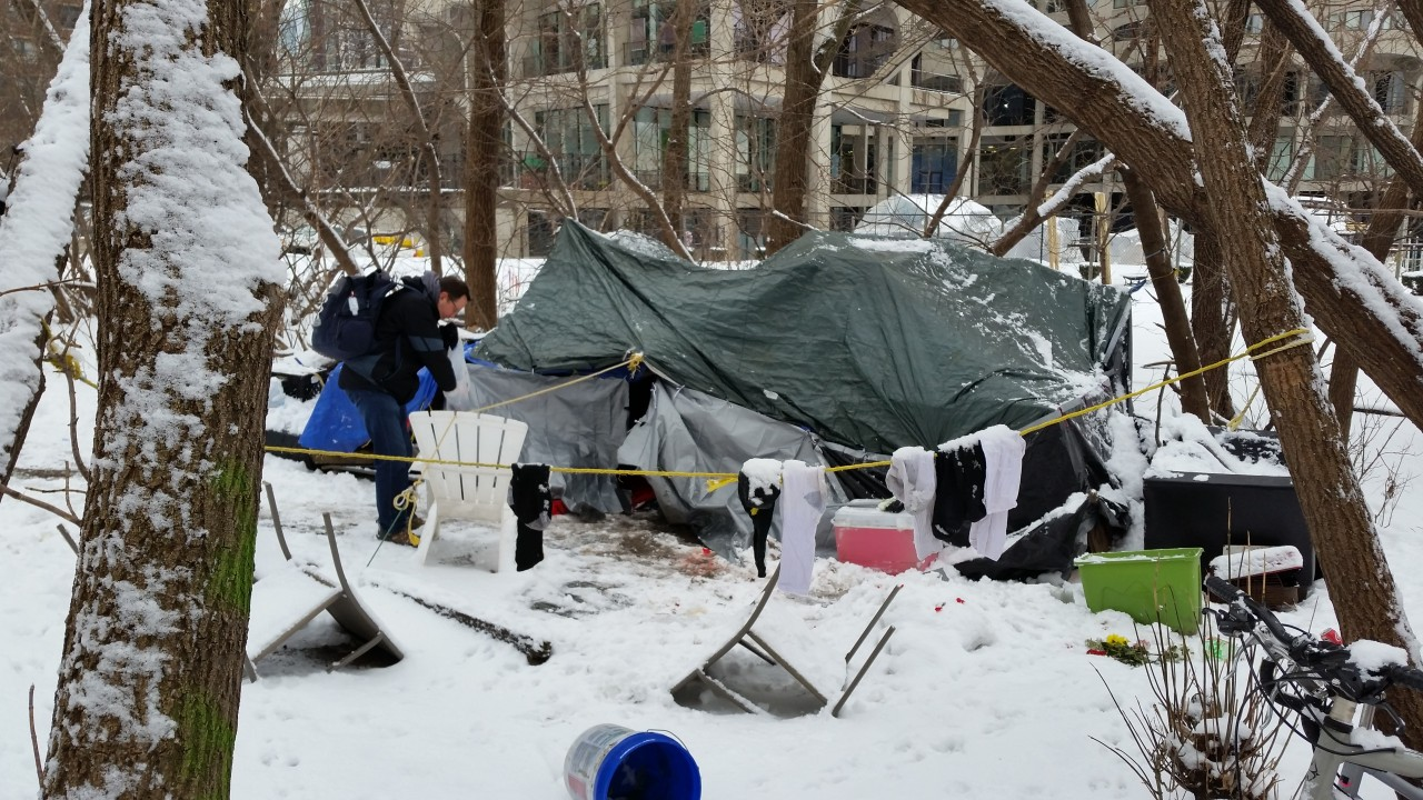 The Street Medicine Team is providing cold weather support for homeless individuals living in encampments across Chicago.